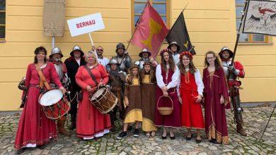 """Photo of Bernau zu Gast beim """"Hussiten-Festival"""" im böhmischen Tábor"""