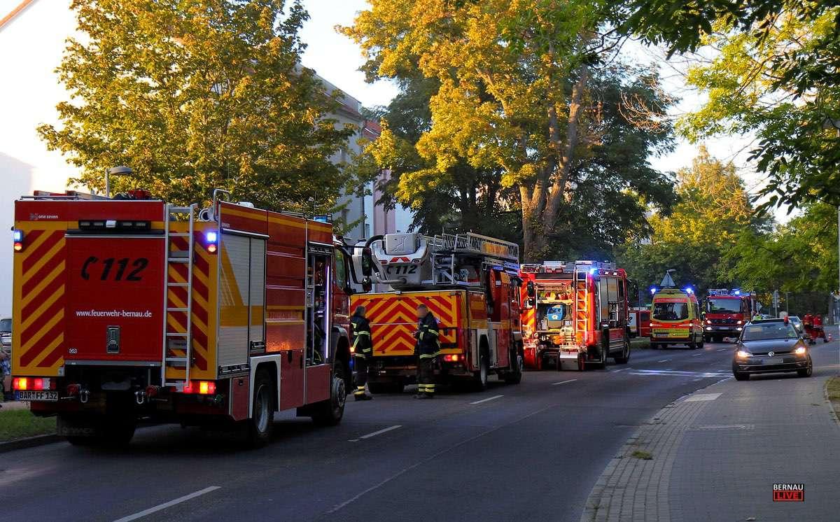 Polizei Bernau Feuerwehr Bernau Bernau LIVE 0000