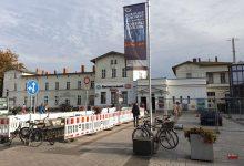 Photo of Bauarbeiten auf dem Bahnhofsvorplatz Bernau haben begonnen