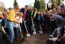 Photo of Grundstein für Evangelische Kita und Grundschule mit Hort in Bernau