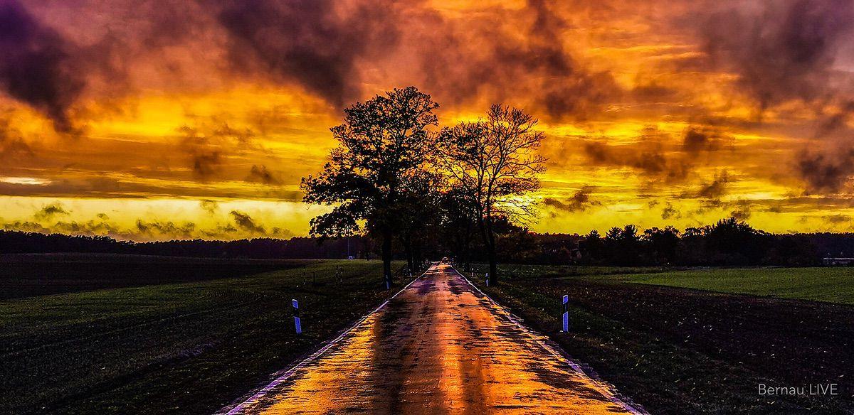 Sonnenuntergang Bernau Regen Bernau LIVE 0000