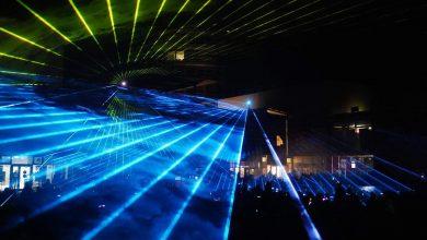 Photo of Feuerwerk,- Musik- und Lasershow in der Bahnhofs-Passage Bernau