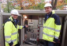 """Photo of """"GridEye-Zelle"""" sorgt am Bhf. Zepernick für intelligente Stromüberwachung"""