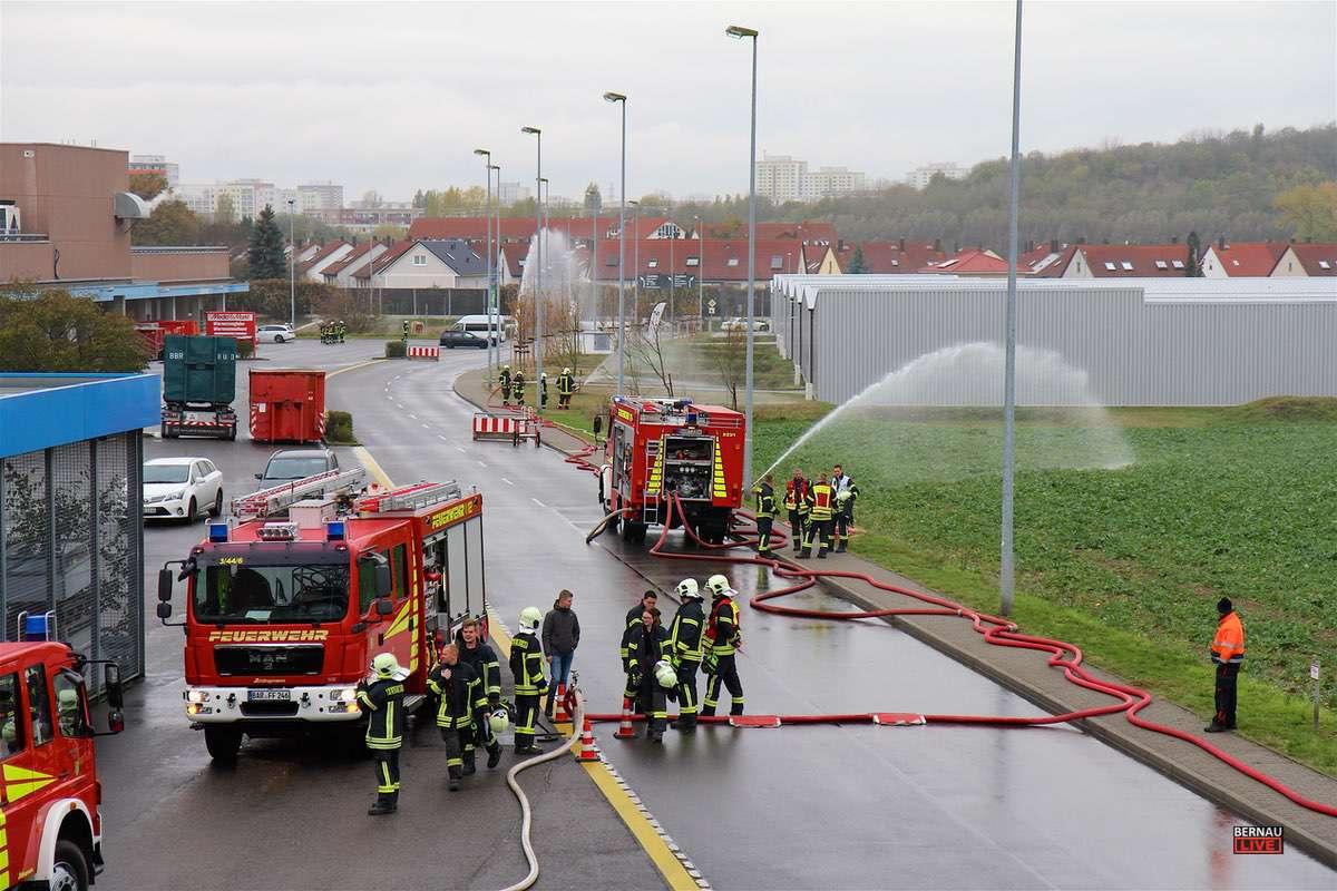 Feuerwehr Ahrensfelde Kaufpark Eiche Bernau LIVE 0031