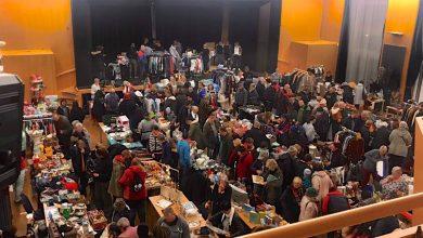 Photo of Nachtflohmarkt in der Bernauer Stadthalle zog zahlreiche Besucher an