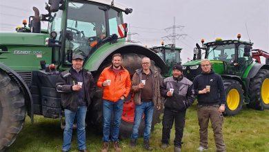 Photo of Guten Morgen aus Bernau bei Berlin und allen Bauern gute Fahrt
