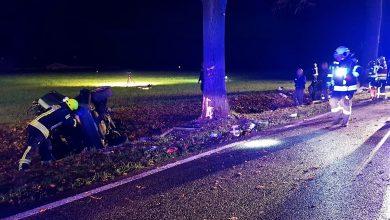 Photo of Schwerer Verkehrsunfall auf der B158 riss Fahrzeug in zwei Teile