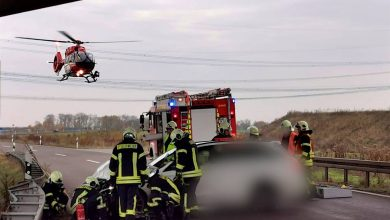 Photo of Schwerer Unfall am Morgen zwischen Dreieck Barnim und Bernau Süd