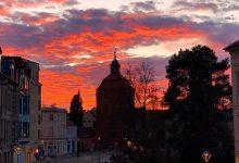 Photo of Ein bisschen Sonne mit tollen Farben zum Feierabend in Bernau