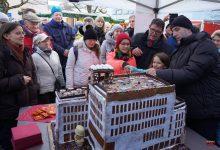 Photo of Großer Andrang zur heutigen Baustellen-Rathausbesichtigung in Bernau