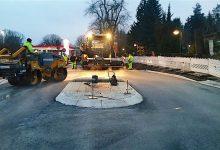 Photo of Baustelle an der Rüdnitzer Chaussee am 19. Dezember 2019 fertig