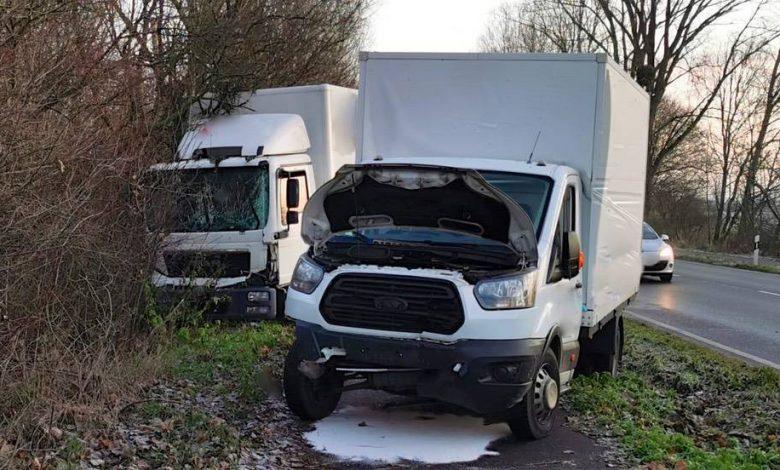 Photo of Glätteunfall verursachte Stau zwischen Lindenberg und Malchow