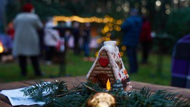 Photo of Leider ein letztes Mal – Waldweihnacht in der Kindernachsorgeklinik