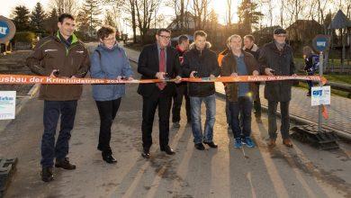 Photo of Krimhildstraße in Bernau nach Bauarbeiten nun auch feierlich übergeben