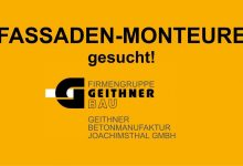 Photo of Stellenangebot Geithner Bau: Monteur(in) für Betonfassaden (m/w/d)