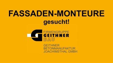Photo of Stellenangebot Geithner Bau: Monteur(in) für Betonfassaden (m/w/d)