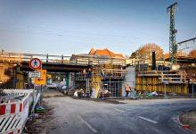 Photo of Bahnüberführung Schönower Straße – Sperrung für Fußgänger/Radfahrer