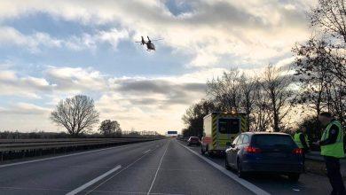 Photo of Verkehrsunfall auf der A11 sorgte am Nachmittag für eine Vollsperrung