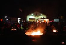 Photo of Winterlagerfeuer der Feuerwehr Ladeburg – gemütlich wars