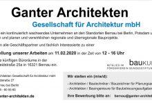 Photo of Stellenangebot Bernau: Architekten / Bautechniker / Bauzeichner (m/w/d)