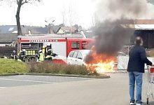 Photo of PKW Brand – großer Schreck am Freitagvormittag in Biesenthal