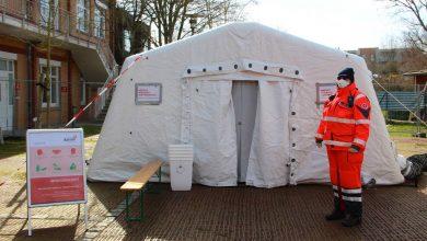 Photo of Corona-Virus – Teststelle am Immanuel Klinikum Bernau in Betrieb