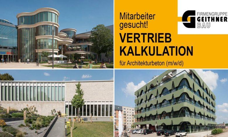 Photo of Stellenangebot: Mitarbeiter Vertrieb / Kalkulation Architekturbeton (m/w/d)