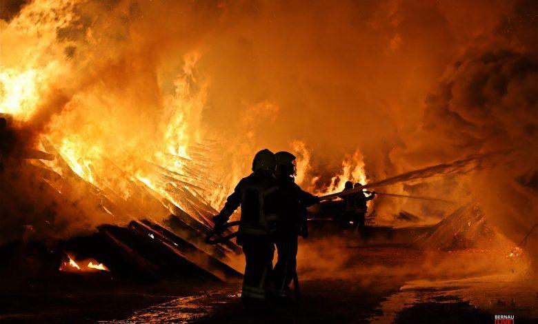 Photo of Schon wieder brennt es! Holz/Wald zwischen Basdorf und Schönwalde
