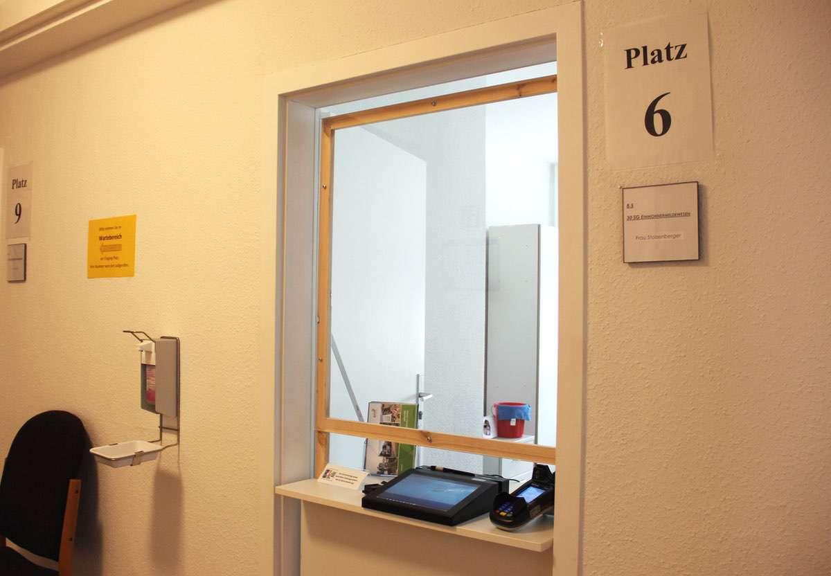 Einwohnermeldeamt neuer Schalter © Bernau LIVE