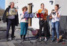 Photo of Kirchliche Musik zu Ostern auf dem Dach des neuen Rathauses Bernau