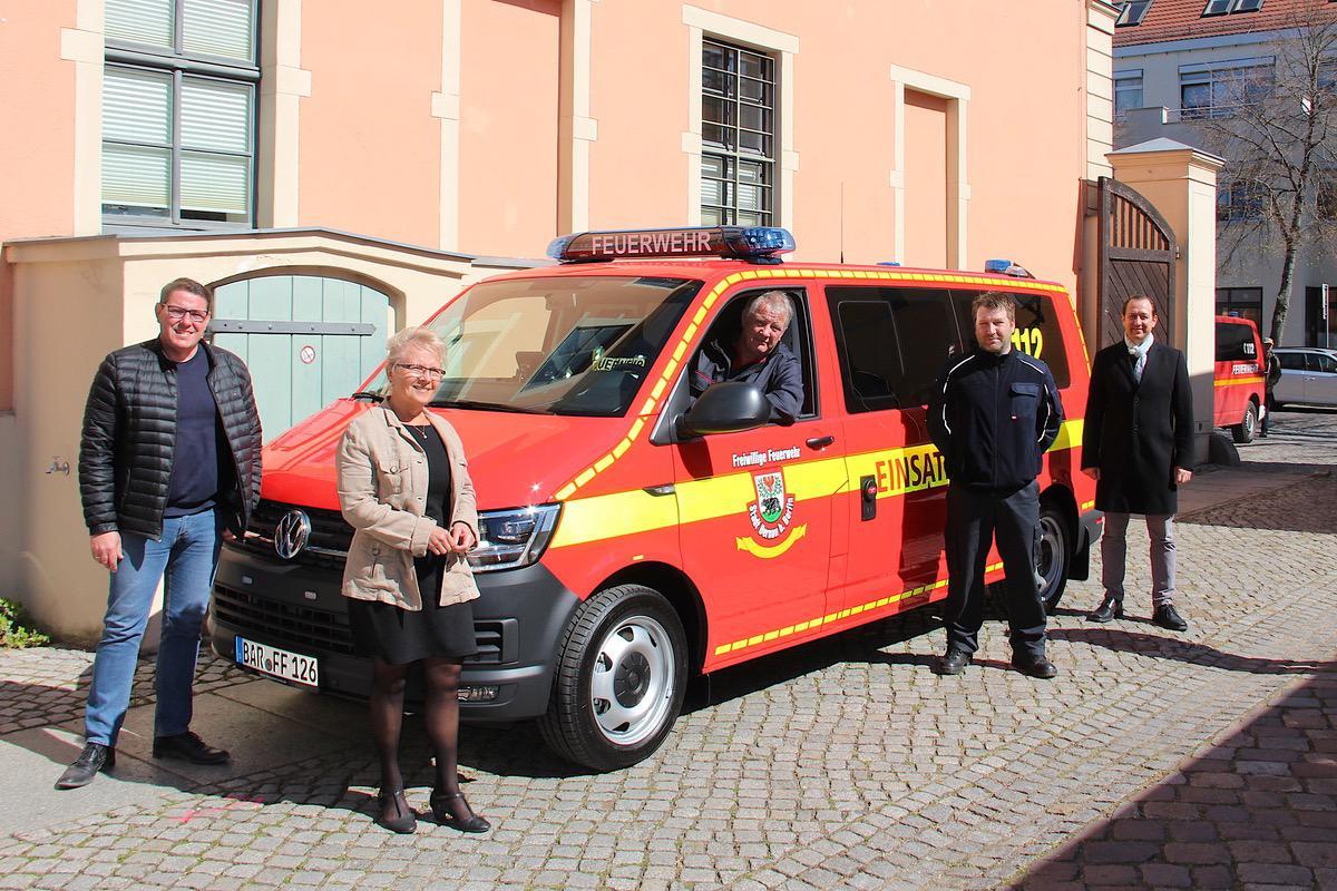 Neuer Kommandowagen 1 © Bernau LIVE
