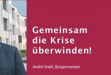 """Photo of Bernaus Bürgermeister André Stahl """"Gemeinsam die Krise überwinden!"""""""