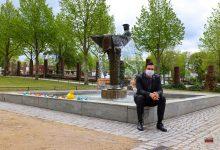 Photo of Wandlitz – Fischerbrunnen vor dem Wandlitzsee sprudelt wieder