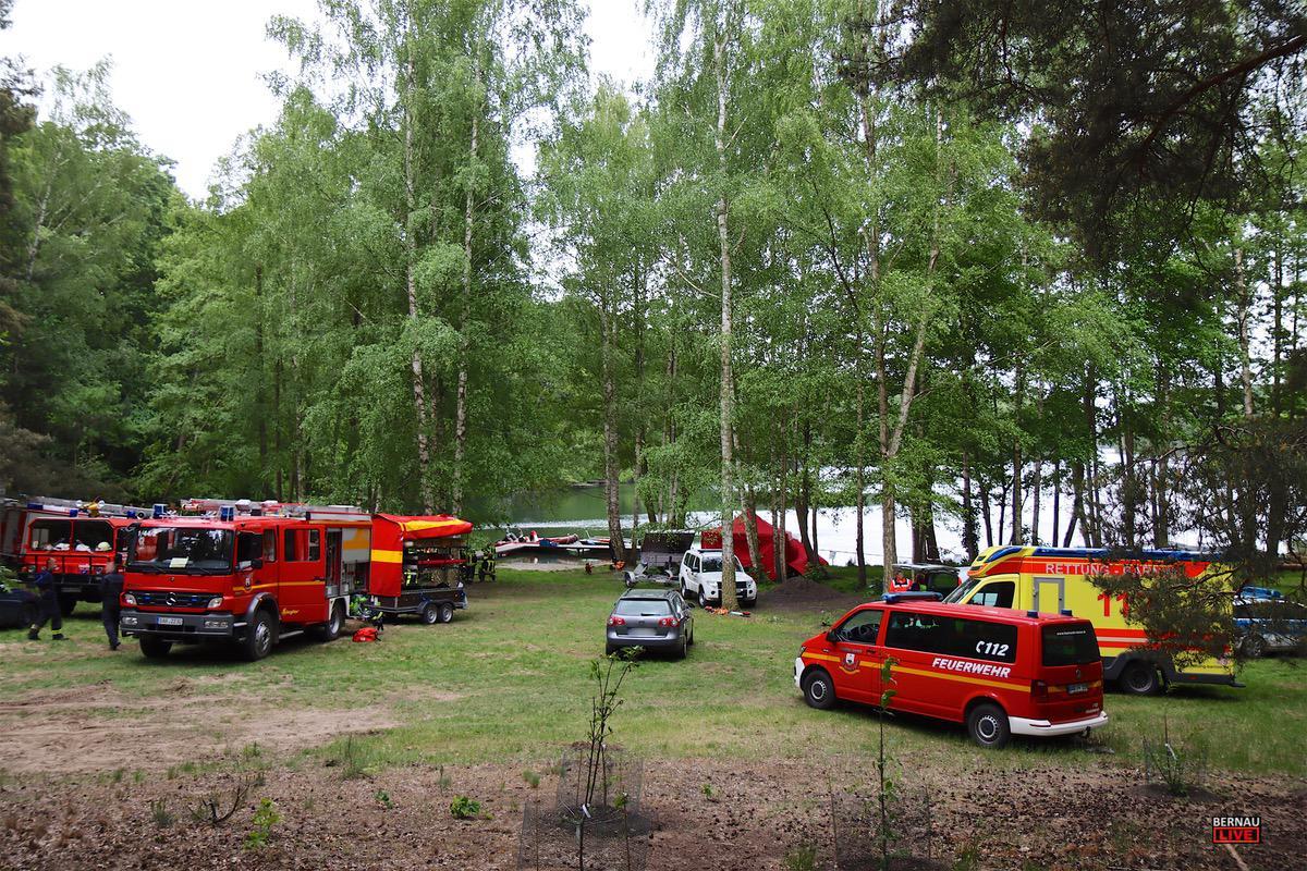Personensuche Feuerwehr Uedersee Bernau LIVE0005