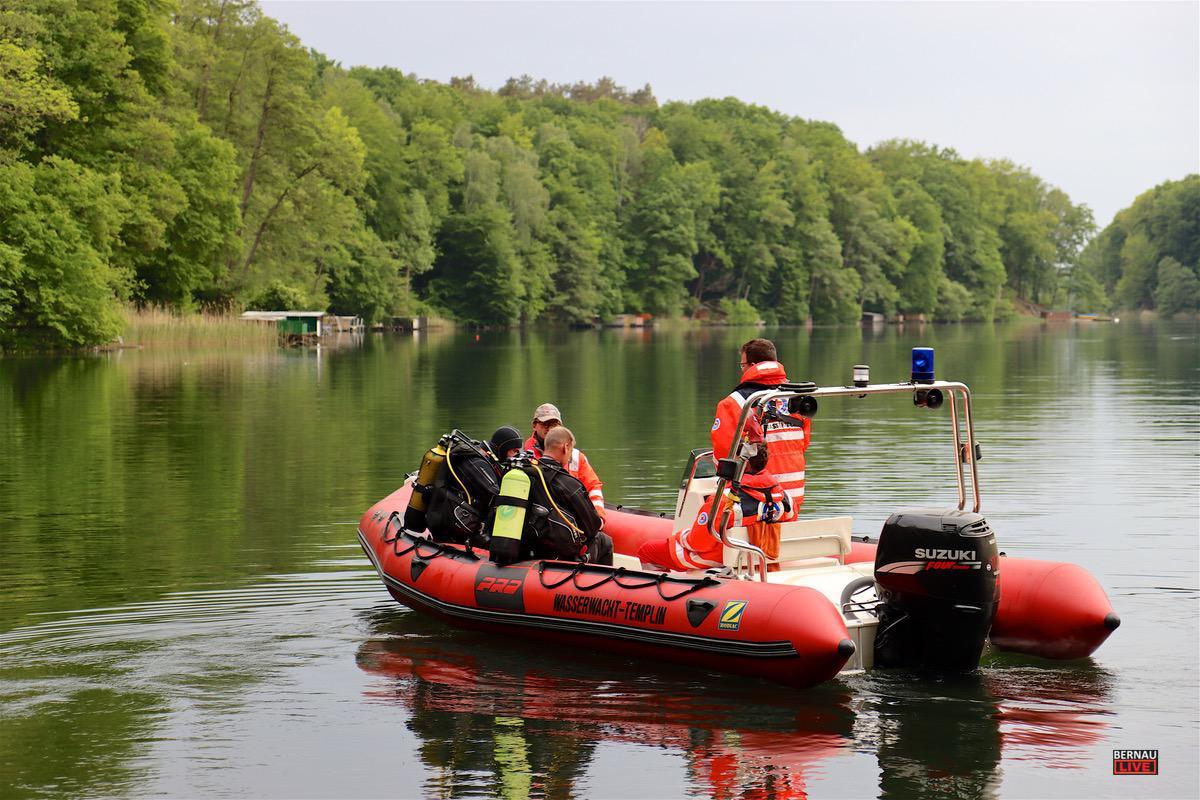 Personensuche Feuerwehr Uedersee Bernau LIVE0009