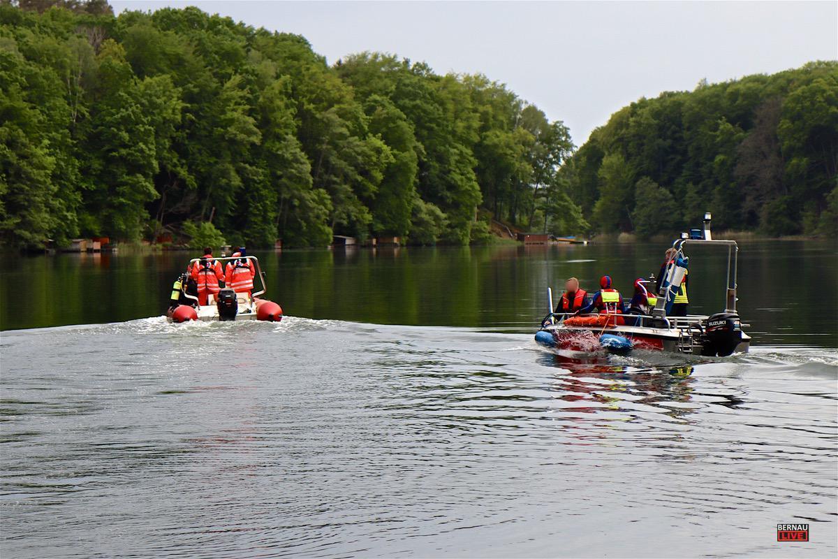 Personensuche Feuerwehr Uedersee Bernau LIVE0010