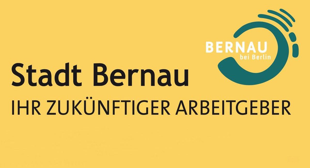 Stellenangebot Stadt Bernau