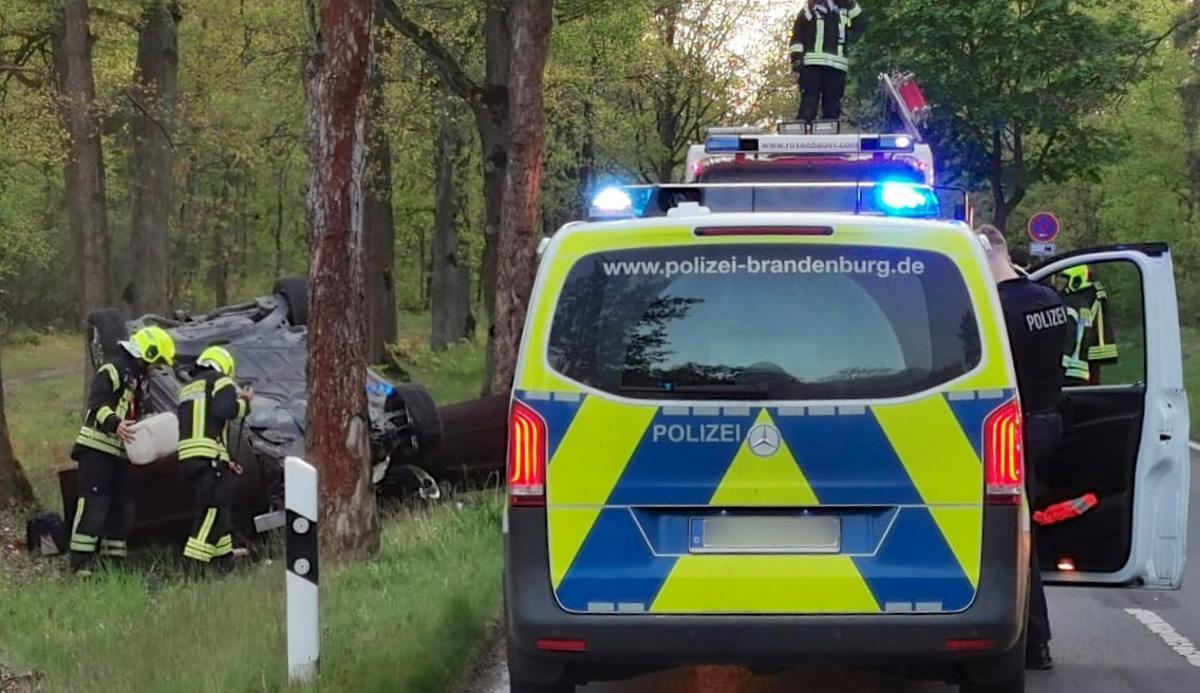 Unfall L30 Schönow