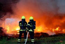 Photo of Brand in Bernau Lobetal: Bitte umliegend Fenster und Türen schließen
