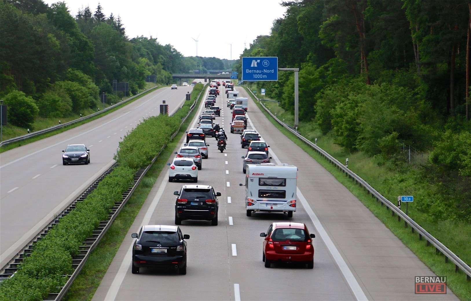 Stau Autobahn Bernau