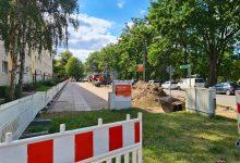 Photo of Bernau: Neuer Gehweg entlang der Schönower Chaussee
