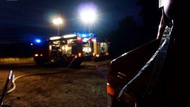 Photo of Wieder brannte es im Bernauer Ortsteil Lobetal
