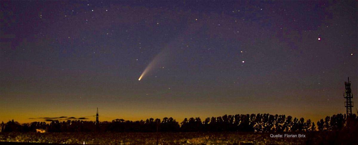 Komet Neowise, Bernau,