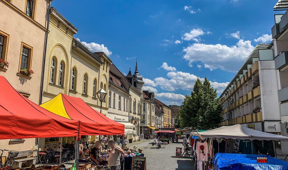 Wochenmarkt Bernau, Bernau, Bernau bei berlin, Bernau LIVE