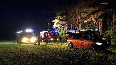 Photo of Bernau: Zwei Waldbrandstellen in Lobetal an einem Abend