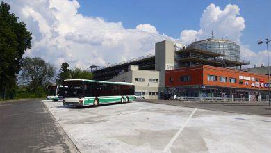 Photo of Neue Buswarteplätze an der Bahnhofs-Passage Bernau