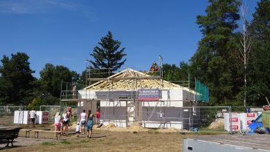 Photo of Bernau: Richtfest für Gemeinschaftshaus in Birkholzaue