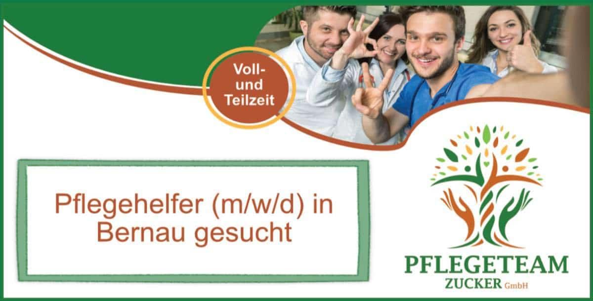 Bernau: Mitarbeiter (m/w/d) mit dem Herz am rechten Fleck ...