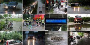 Bernau – Barnim: Unwetter zog über unsere Region
