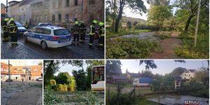 Haus brennt in Bernau – Unwetter verwüstete Schwanebeck